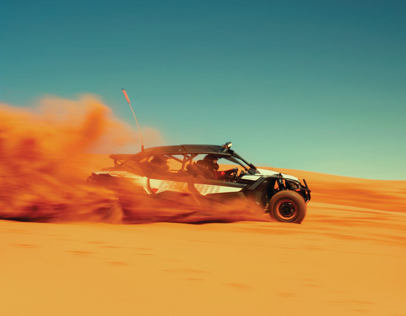 Off-Road Vehicle in the desert