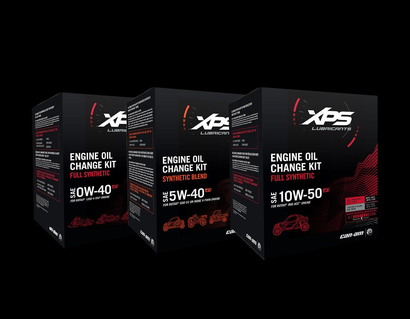 Nécessaire de changement d'huile XPS